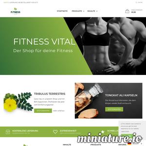 Fitness Vital to sklep internetowy, który sprzedaje wysoko wydajne suplementy fitness wykonane z ekstraktów z korzenia. Wszystkie produkty sa weganskie, sproszkowane i pochodza bezposrednio od producenta.