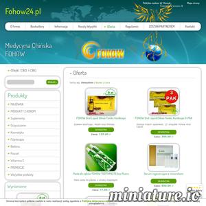 Zapraszam do sklepu internetowego Fohow. Produkty medycyny chińskiej, perły księżniczki ./_thumb1/www.fohow24.pl.png