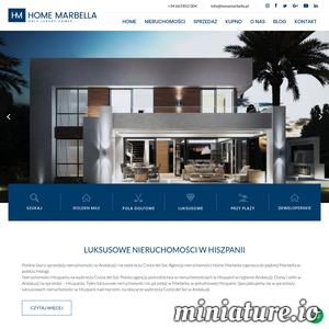 Polskie biuro nieruchomości w Marbella na Costa del Sol w Andaluzji. Nieruchomości Hiszpania mieszkania. Luksusowe nieruchomości. Wille, mieszkania, rezydencje domy i apartamenty na sprzedaż na południu kraju. Inwestycje i oferty w Hiszpanii na sprzedaż. Zapraszamy do inwestycji