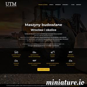 Zajmujemy się wynajmem wysokiej klasy maszyn budowlanych  we Wrocławiu. Dla naszych stałych klientów mamy rabaty, a nowi mogą coś utargować, szczególnie jeżeli pożyczają sporo sprzętu. Zawsze stawiamy na jakość i szybkość usług. Jesteśmy do Państwa dyspozycji. U nas wypożyczą Państwo wszystkie maszyny budowlane, których potrzebujecie do realizacji projektu. Firmy budowlane działające również w naszym kraju coraz chętniej sięgają po uniwersalne maszyny, które wykraczają poza przyjęte standardy. Zapewnia to wydajną i stabilną pracę w najtrudniejszych warunkach. U nas wynajem maszyn budowlanych odbywa się zawsze na prostych i jasnych zasadach. Dbamy o zabezpieczenie ich stanu technicznego, dzięki czemu można  mieć pewność, że wszystkie dostępne u nas urządzenia są sprawne. Firma UTM EXPERT  zaprasza wszystkich mieszkańców Wrocławia do współpracy na polu obsługi specjalistycznych usług wynajmu maszyn budowlanych