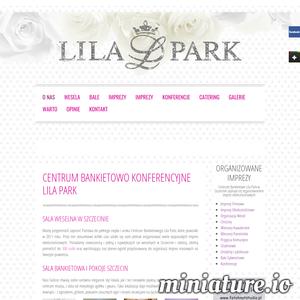 Zapraszamy Państwa do skorzystania z oferty weselnej przygotowanej przez nasz lokal Lila Park w Szczecinie. Od wielu lat zajmujemy się organizowaniem przyjęć okolicznościowych, a wesela to nasza specjalność. Dbamy o zachowanie najwyższej jakości obsługi podczas Waszego przyjęcia. Wszystko co przygotujemy będzie dokładnie takie jak wspólnie zaplanujemy. Przygotowaliśmy dla Państwa specjalnie zaprojektowane Menu weselne. Dostępne w kilku wariantach cenowych zawiera wiele smacznych dań oraz atrakcje i usługi typowo weselne. Posiadamy także salę bankietową, która oferuje wiele miejsca dla Gości. Nie zabraknie go zarówno do zabawy na parkiecie ani do siedzenia przy stolikach. Zapraszamy do umawiania się na wizyty w celu oglądania sali. Prosimy o kontakt mailowy lub telefoniczny.  ./_thumb1/www.lilapark.net.png