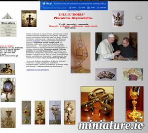 Oferujemy wyroby użyteczności kościelnej takie jak: gongi, dzwonki, trybularze, relikwiarze itp.. Zapraszamy do obejrzenia naszych produktów. Oferujemy również kompleksowe naprawy i renowacje naczyń liturgicznych np.: kielichów, relikwiarzy, monstrancji, lichtarzy ,lamp, tabernakulum ..