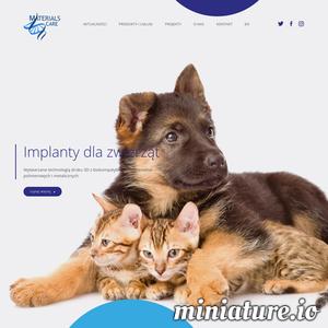 MaterialsCare jest spółką zajmującą się wytwarzaniem implantów kościozastępczych dla zwierząt oraz szablonów chirurgicznych na potrzeby medycyny.