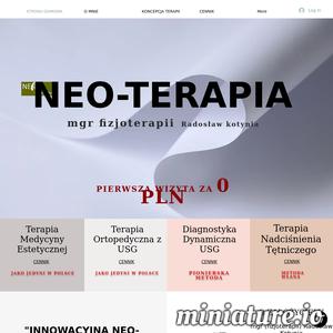 Darmowa pierwsza wizyta, Nowatorskie terapie: medycyna estetyczna i ortopedia, Dynamiczna metoda badania USG. NEO-TERAPIA