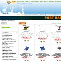 """Sklep internetowy """"Port-narzedziowy.pl"""" oferuje Państwu najwyższej jakości narzędzia, oraz elektronarzędzia takich firm jak: Hitachi, Wiha, Teng Tools, Milwaukee, Mirak, Irwin, Kingtony, AEG, Festool, Protool, Norton, 3M, Stanley, Makita, Bosch, FAR, Jonnesway, Bison i wiele innych. Zapraszamy do zakupów."""