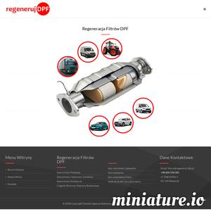 W naszej ofercie posiadamy regenerację filtrów DPF do: samochodów osobowych wszystkich typów,Samochodów ciężarowych, Autobusów, Samochodów dostawczych, Ciągników rolniczych, Maszyn budowlanych. Regenerujemy filtry bez rozcinania i spawania. ./_thumb1/www.regeneruj-dpf.pl.png