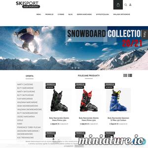 Jeżeli poszukujesz sklepu internetowego, w którym znajdziesz wszystko co potrzebne narciarzowi, to nasz sklep jest właśnie dla Ciebie. Posiadamy odzież narciarską, narty zjazdowe i do skituru, ale nie zapominamy również o snowboardzistach, dla których przygotowaliśmy wiele ciekawych propozycji. Oferowane produkty należą do producentów o uznanej renomie takich jak Atomic, Nordica, Salomon czy Volkl. Z nami zadbasz nie tylko o przyjemność z jazdy, ale również bezpieczeństwo dzięki wytrzymałym kaskom, goglom i ochraniaczom.