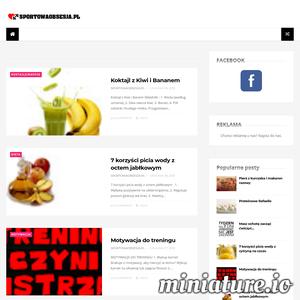 Sportowaobsesja.pl - Motywacja, Trening, Przepisy