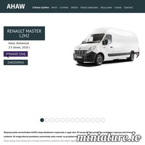 Nasza wypożyczalnia samochodów AHAW działa na rynku od 1992 roku oferując możliwość wypożyczenia samochodów wielu marek oraz luksusowych limuzyn z szoferem. Swoje usługi kierujemy zarówno do klientów krajowych jak i zagranicznych. Znajdujemy się 150 metrów od dworca PKP, co stanowi duży atut i wygodę dla potencjalnych klientów. AHAW to firma z wieloletnim doświadczeniem gwarantująca usługi najwyższej jakości. Pomagamy w znalezieniu idealnego samochodu zastępczego wsłuchując się dokładnie we wszystkie sugestie klienta. Jeśli samochód jest niezbędny do pracy, firma ubezpieczeniowa pokrywa koszty związane z wypożyczeniem samochodów. Na uroczyste okazje (śluby, studniówki) umożliwiamy wypożyczenie limuzyn wraz z szoferem.  Z naszej oferty mogą skorzystać osoby pełnoletnie, które ukończyły 21 lat i posiadają ważne prawo jazdy. Dowód osobisty i/lub inny dokument potwierdzający tożsamość klienta są także niezbędne, aby wypożyczenie samochodu było możliwe.  Wypożyczamy samochody na określon
