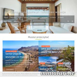 Odkryj niesamowite Wyspy Kanaryjskie - zaplanuj z nami idealne wakacje, wyjazd na weekend albo rodzinne wczasy. Fuerteventura, Gran Canaria, Teneryfa, Lanzarote - informacje o wszystkich wyspach w jednym miejscu - największe atrakcje, wybrane najlepsze hotele, wykwintne restauracje. Dowiesz się jak dojechać, co robić na miejscu u gdzie jest najlepsza plaża. Baza praktycznych, aktualnych informacji o Wyspach Kanaryjskich - najciekawsze miejsce o takiej tematyce w polskim internecie! Sprawdź nas, jeśli marzysz o cudownych wakacjach na Wyspach Kanaryjskich.  ./_thumb1/wyspy-kanaryjskie.pl.png